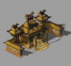 3D model gang - architecture 68