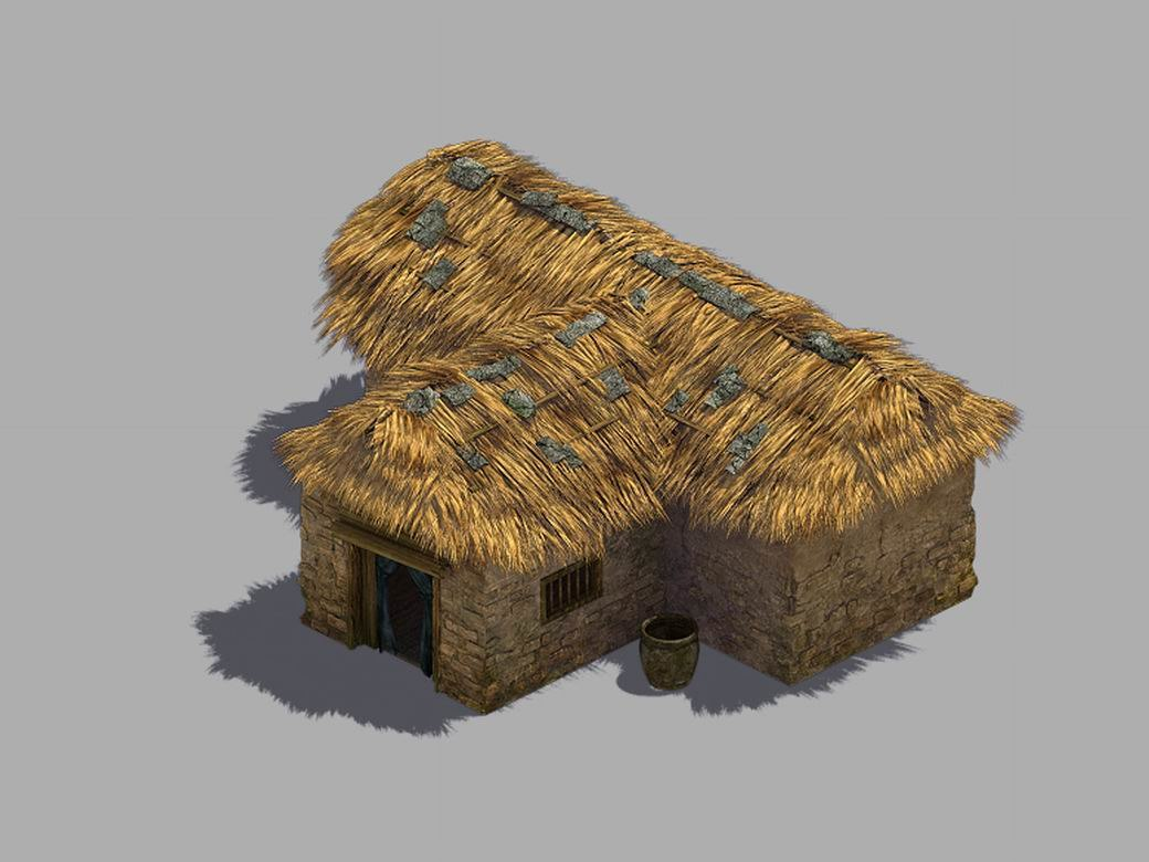 3D t-drawing house 03 model