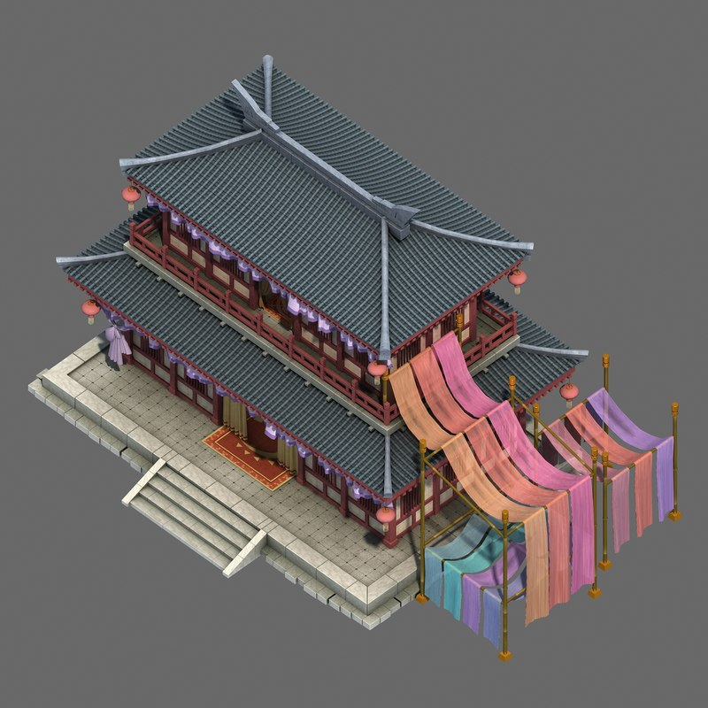 beijing city construction - 3D model