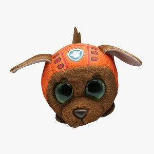 3D plush animal games model