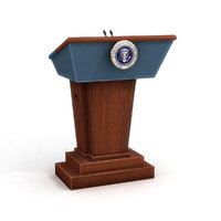 US Presidential Podium 1