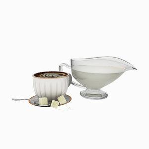 coffee foam model