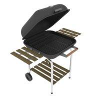 3D bbq grill model