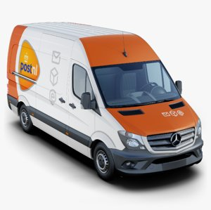mercedes-benz sprinter 3D model