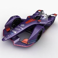 3D model virgin formula e season