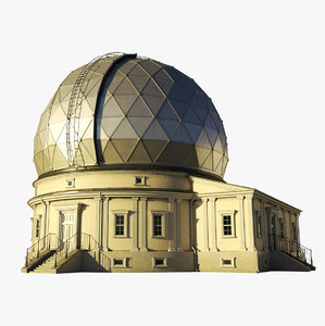 3D model astronomical observatory