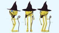 character animations walking model
