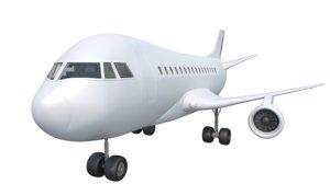3D aeroplane model