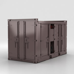 3D diesel compressor unit
