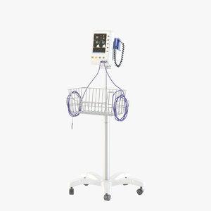 3D model vital monitor