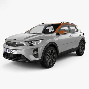 3D model kia stonic 2018