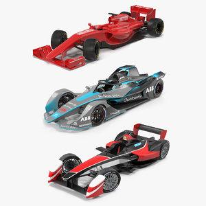 3D model formula cars 2 e