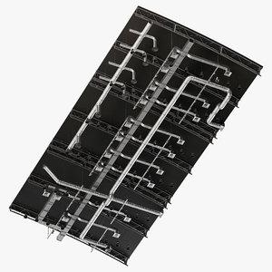 ceiling ventilation 16 1 3D model