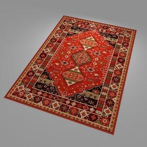 3D model carpets rug