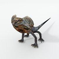 kingy lizard 3D model