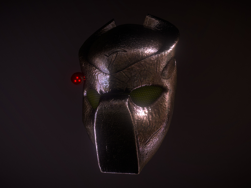 3D bio-mask predators mask model