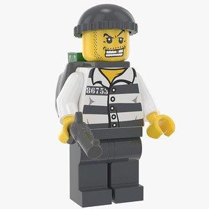 lego criminal 3D model