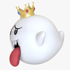 3D king boo super mario