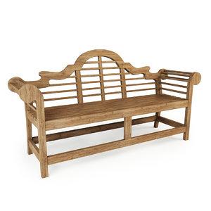 lutyens bench model