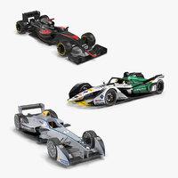 formula cars 2 e 3D