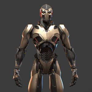 robot character model