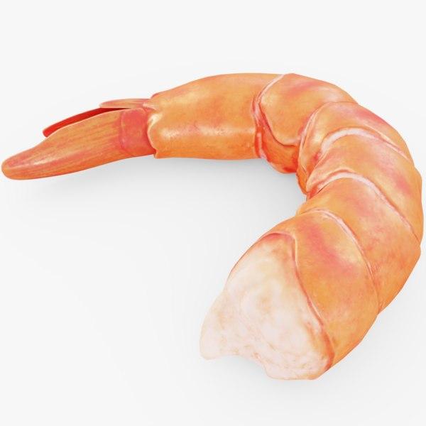 3D seafood model