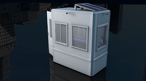 security cabin 3D