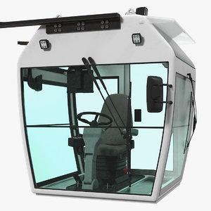 industrial control cabin 3D