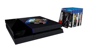 3D playstation 4 games model