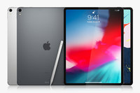 Apple iPad Pro 12.9 inch Wi-Fi + Cellular 2018 and New Apple Pencil
