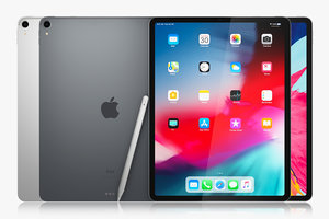 apple ipad pro 12 3D