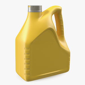 4l car oil bottle 3D model