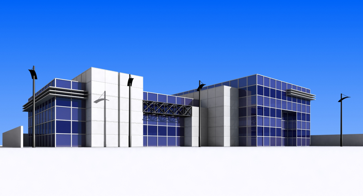 3D office building - TurboSquid 1364442