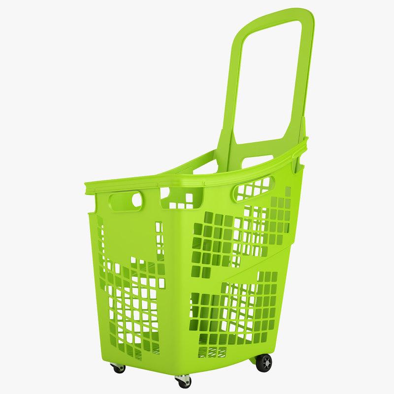 plastic roll shopping model