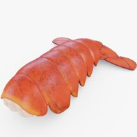 seafood lobster 3D model