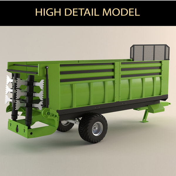 farm vehicle 3D model