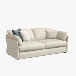 3D chateau lady t sofa interior