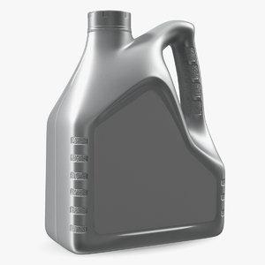 motor oil 4l bottle 3D model