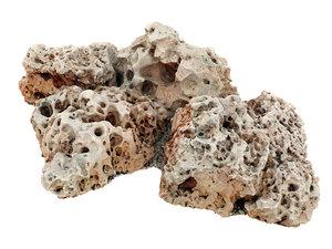 3D boulders coral reef model