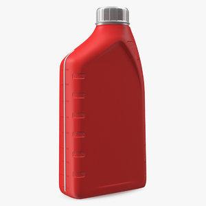 3D bottle 1l oil