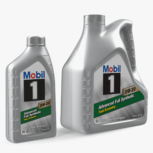 3D mobil 1 synthetic oil