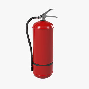 3D extinguisher tool industrial