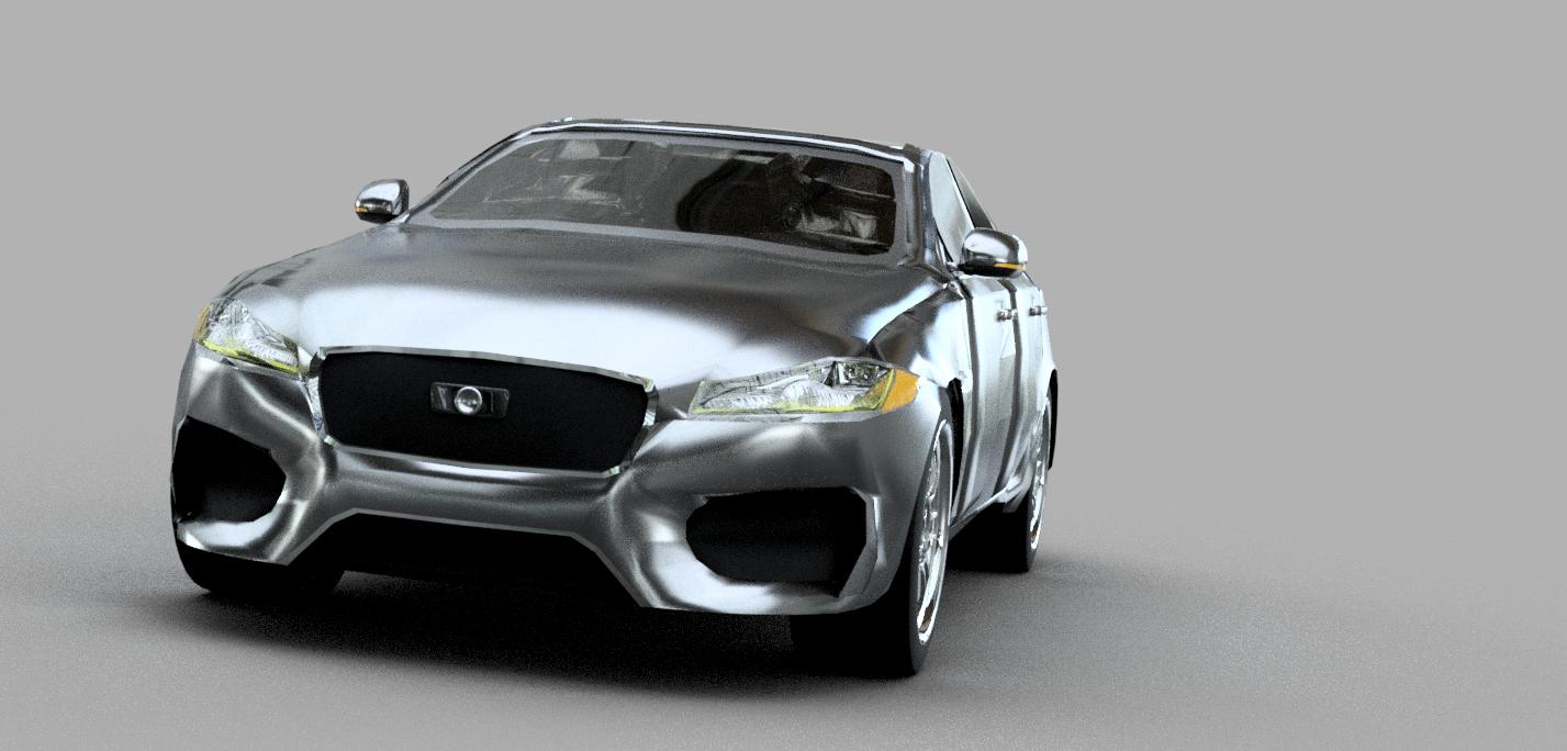 3D medium car