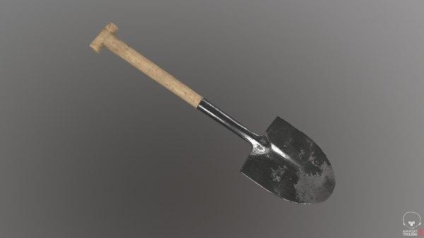 3D shovel model