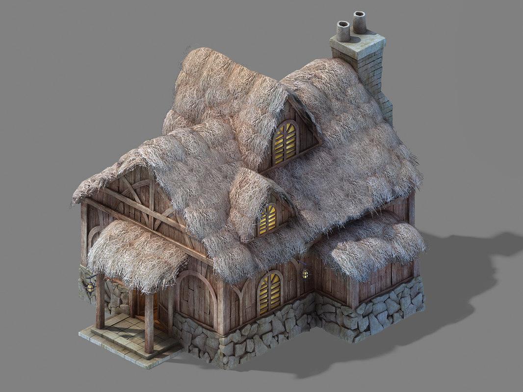 glacier ancient land - 3D model