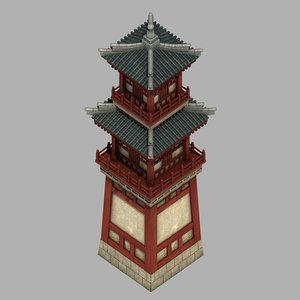 3D beijing architecture - defense model