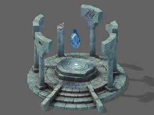 rainbow city - immortality 3D model