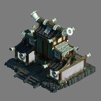 3D model beijing city - blacksmith