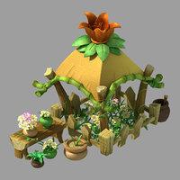 city - florist 1 3D model