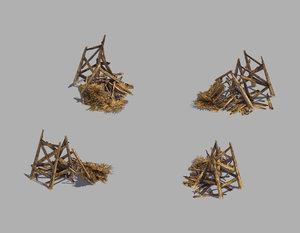 3D model broken - watch tower